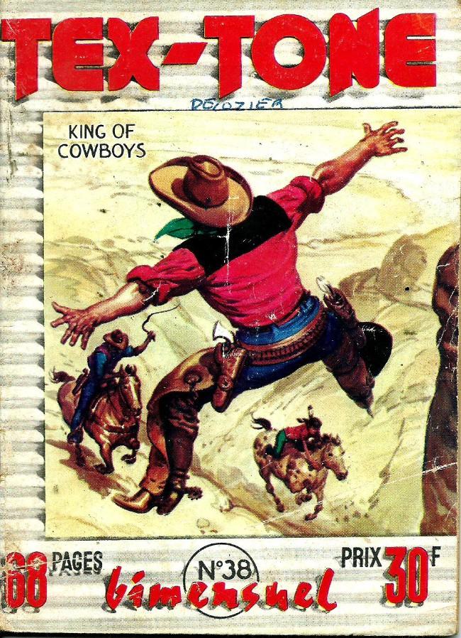 Couverture de Tex-Tone -38- Le totem d'or