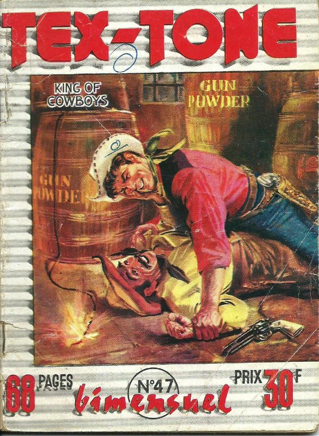 Couverture de Tex-Tone -47- Tex-tone contre Rocky le jaune