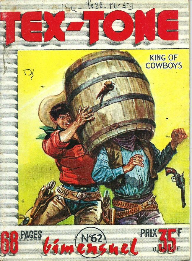 Couverture de Tex-Tone -62- Le rapt de Tommy