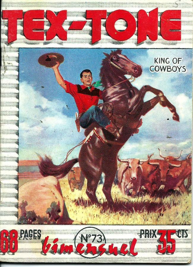 Couverture de Tex-Tone -73- Ceux du clan du soleil
