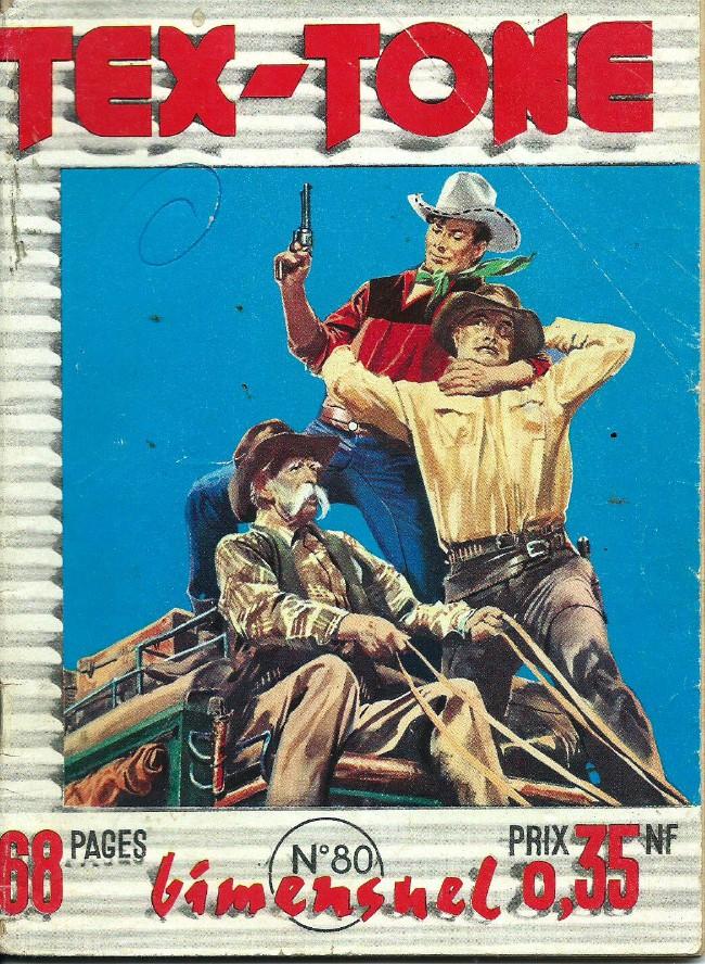 Couverture de Tex-Tone -80- Coup fatal!