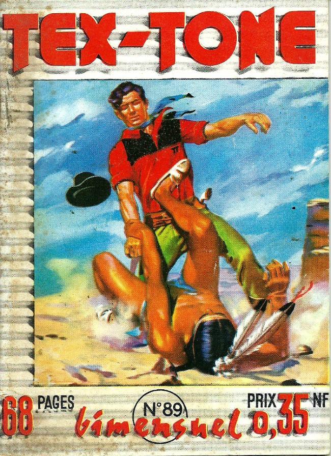 Couverture de Tex-Tone -89- Le défenseur de Jupy