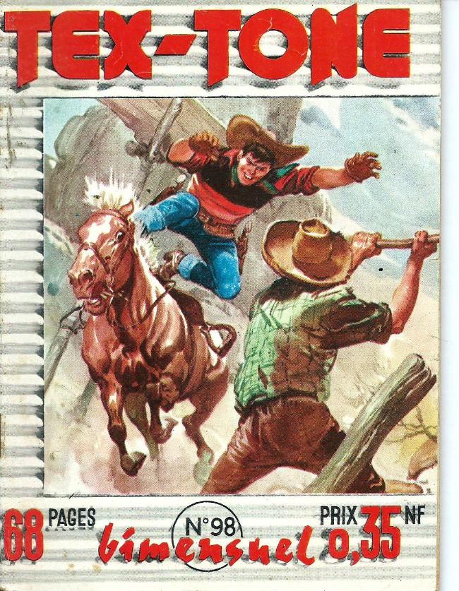 Couverture de Tex-Tone -98- La montagne de feu