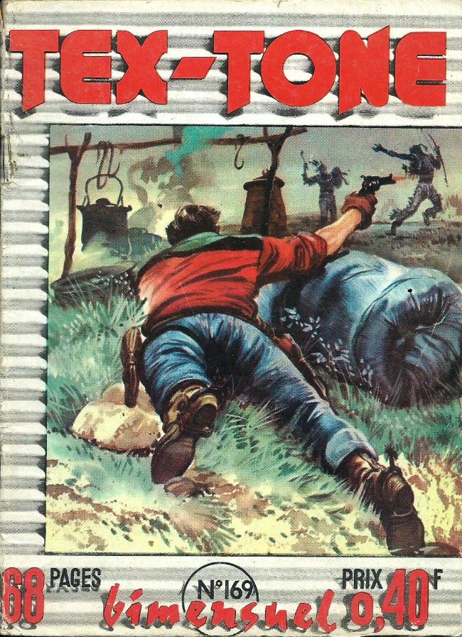 Couverture de Tex-Tone -169- Une caisse vide