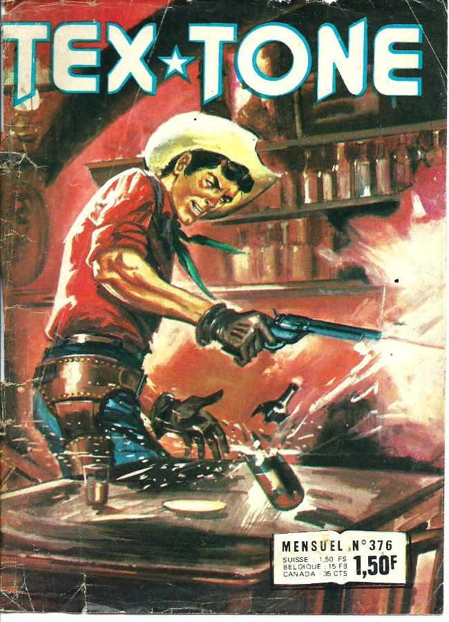 Couverture de Tex-Tone -376- Le héros