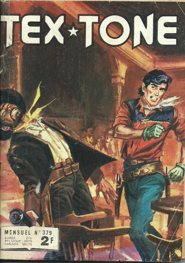 Couverture de Tex-Tone -379- Un homme sympathique