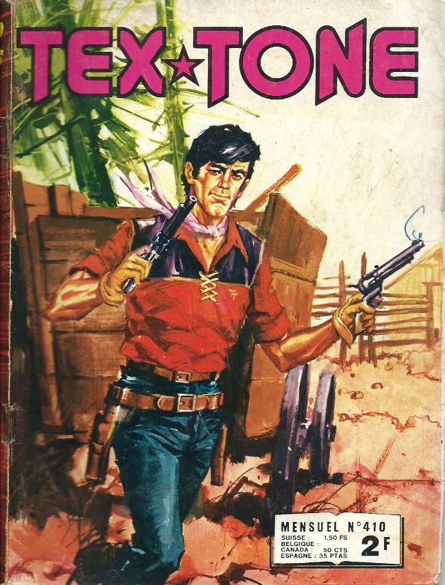 Couverture de Tex-Tone -410- Le choix du châtiment