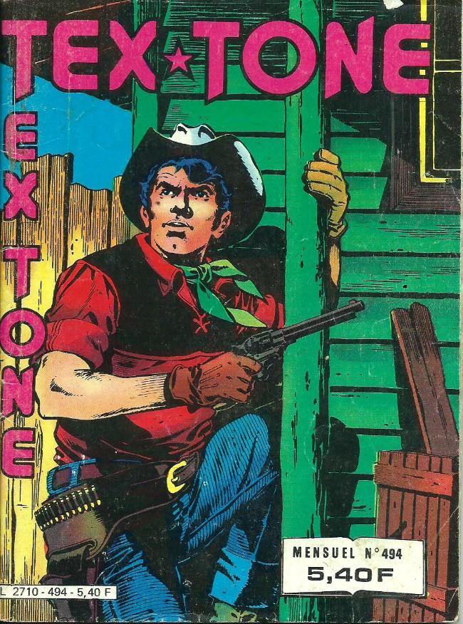 Couverture de Tex-Tone -494- Une vieille promesse