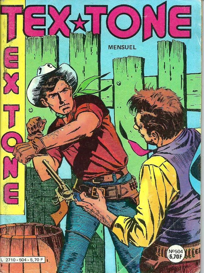 Couverture de Tex-Tone -504- Le maître