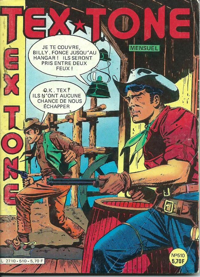 Couverture de Tex-Tone -510- La pièce de monnaie brisée