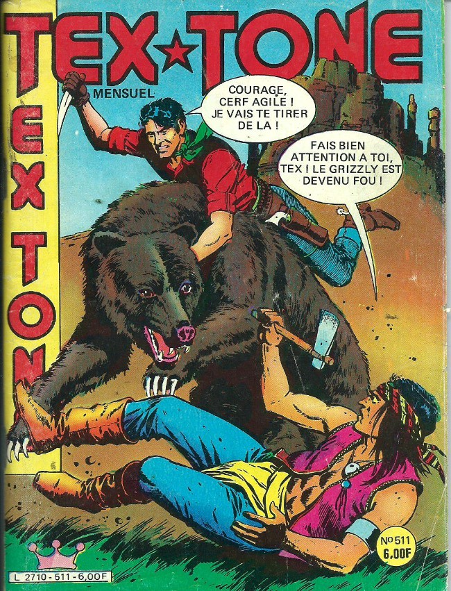 Couverture de Tex-Tone -511- Le secret du ranch Cassidy