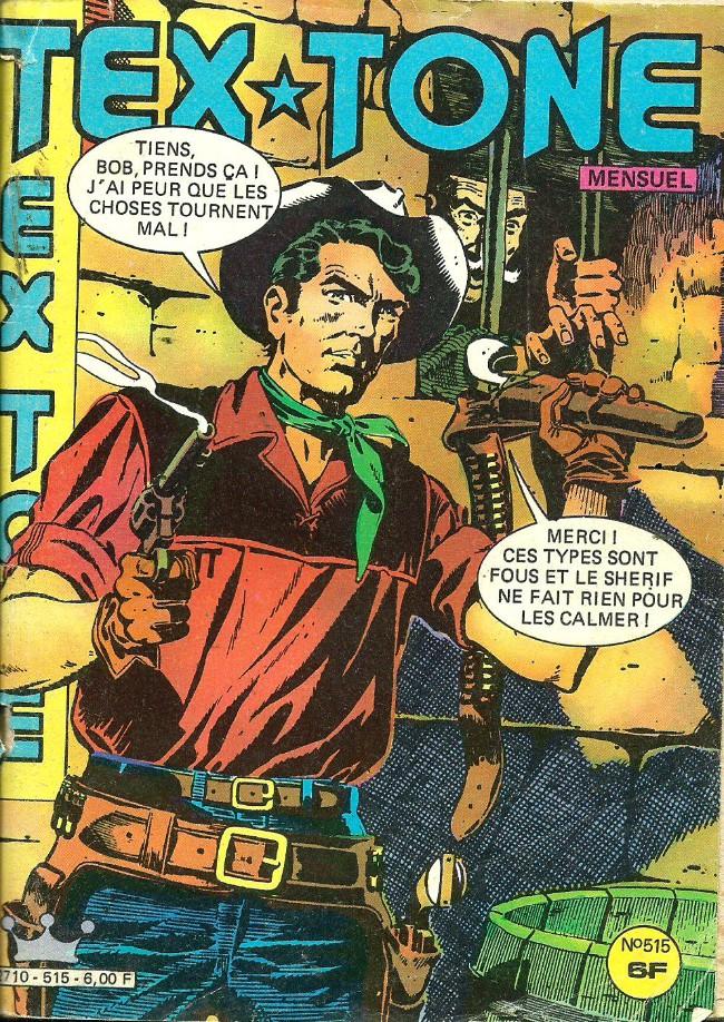 Couverture de Tex-Tone -515- Le salaire de Joson