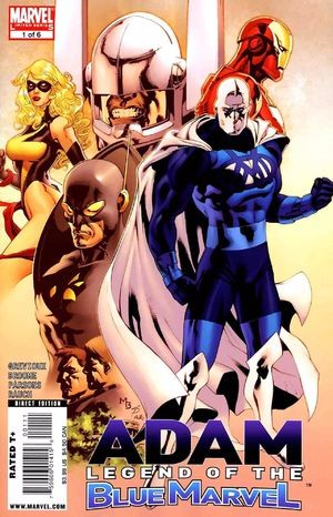 Couverture de Adam: Legend of The Blue Marvel (2009) -1- Part 1