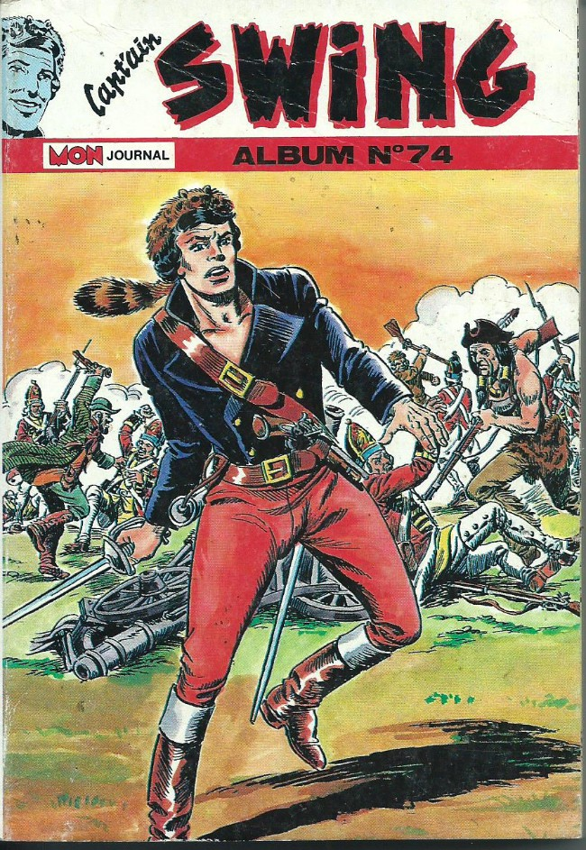 Couverture de Capt'ain Swing! (1re série) -Rec074- Album N°74 (du n°252 au n°254)