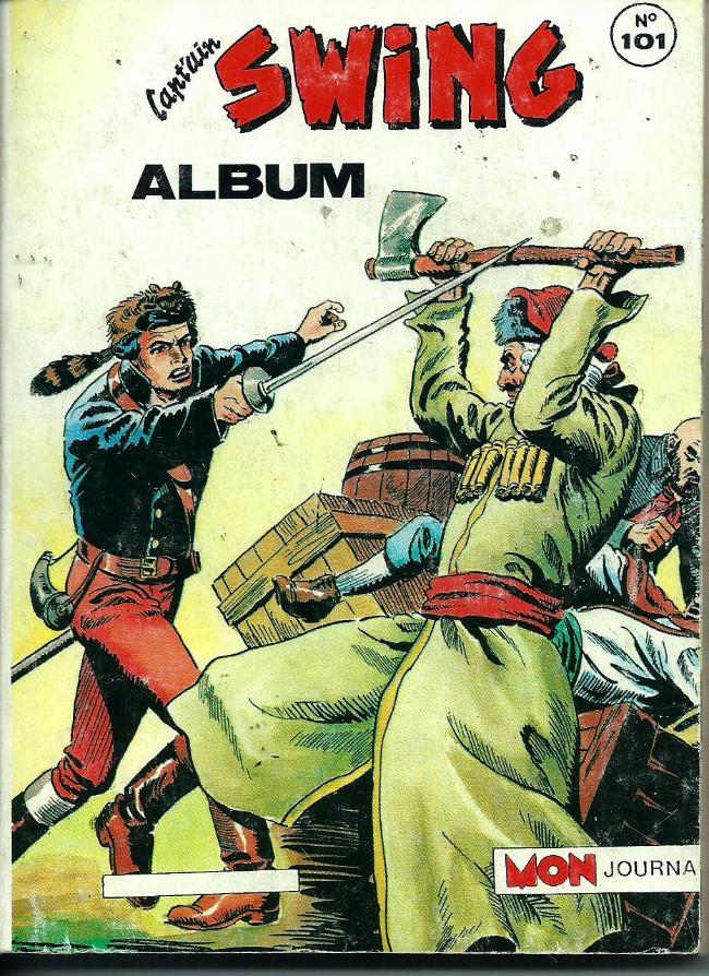 Couverture de Capt'ain Swing! (1re série) -Rec101- Album N°101 (spécial 14-15-Swing 235)