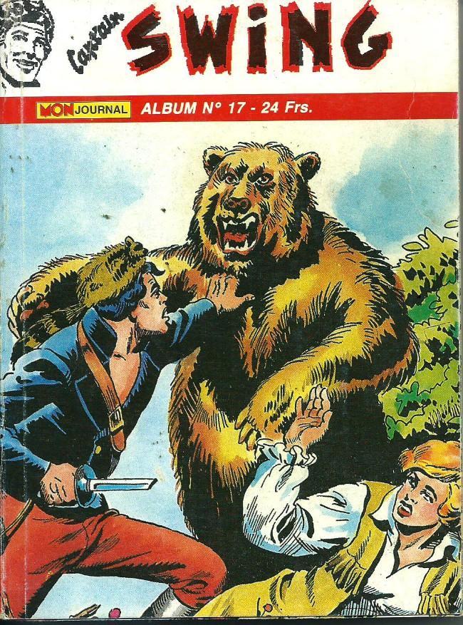 Couverture de Capt'ain Swing! (2e série - Mon Journal) -Rec17- Album N°17 (du n°49 au n°51)