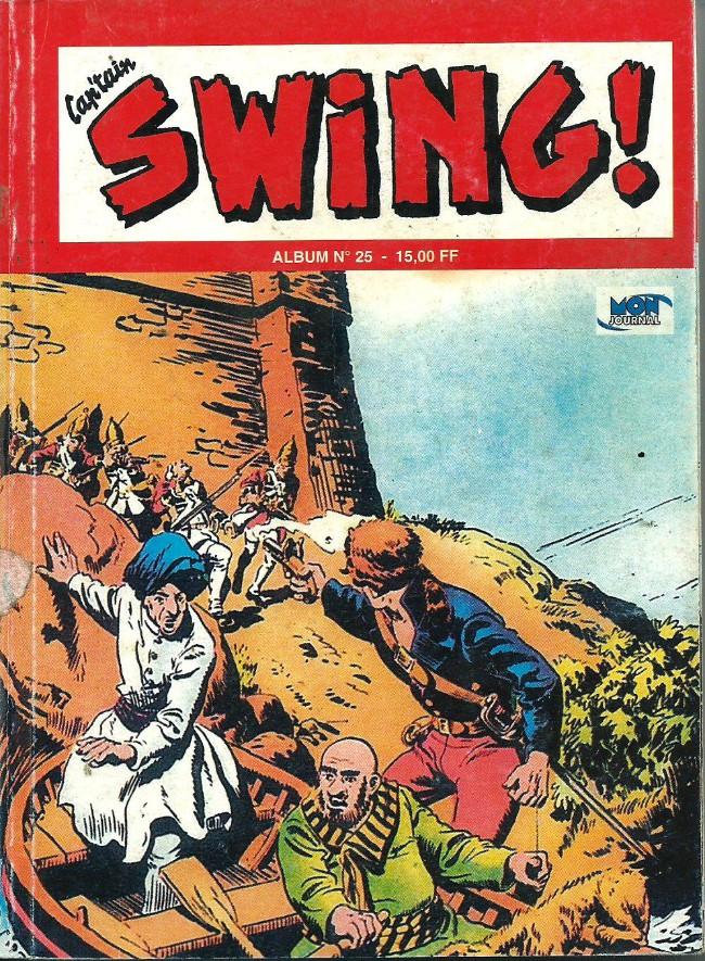 Couverture de Capt'ain Swing! (2e série - Mon Journal) -Rec25- Album N°25 (du n°73 au n°75)