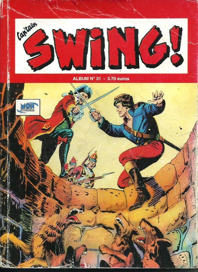 Couverture de Capt'ain Swing! (2e série - Mon Journal) -Rec31- Album N°31 (du n°91 au n°93)