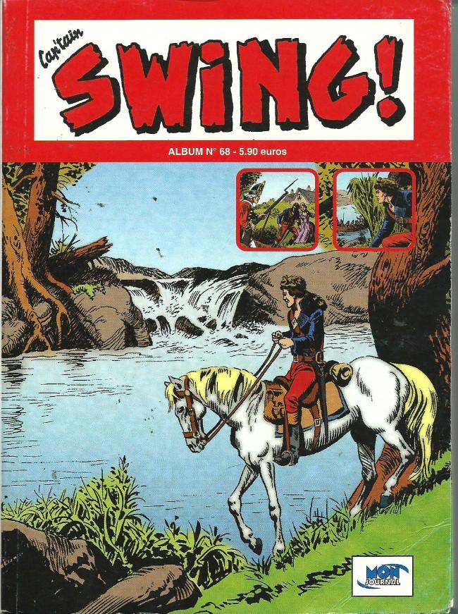 Couverture de Capt'ain Swing! (2e série - Mon Journal) -Rec68- Album N°68 (du n°204 au n°206)