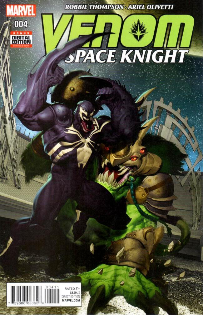 Couverture de Venom: Space Knight (2016) -4- Issue 4