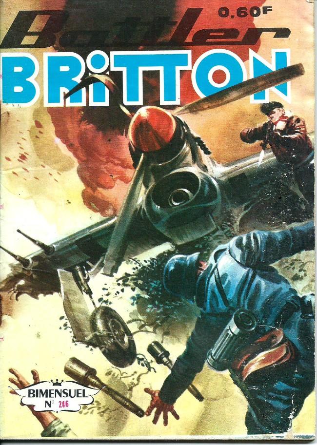 Couverture de Battler Britton -246- Passage périlleux