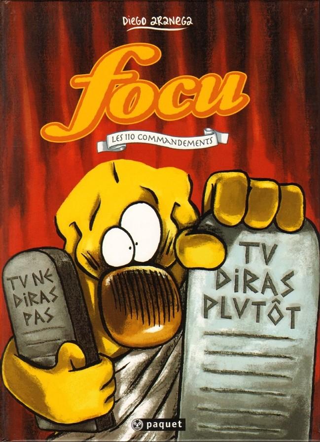 Couverture de Focu -0- Les 110 Commandements