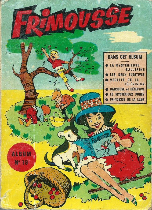 Couverture de Frimousse et Frimousse-Capucine -Rec19- Album N°19 (du n°101 au n°106)