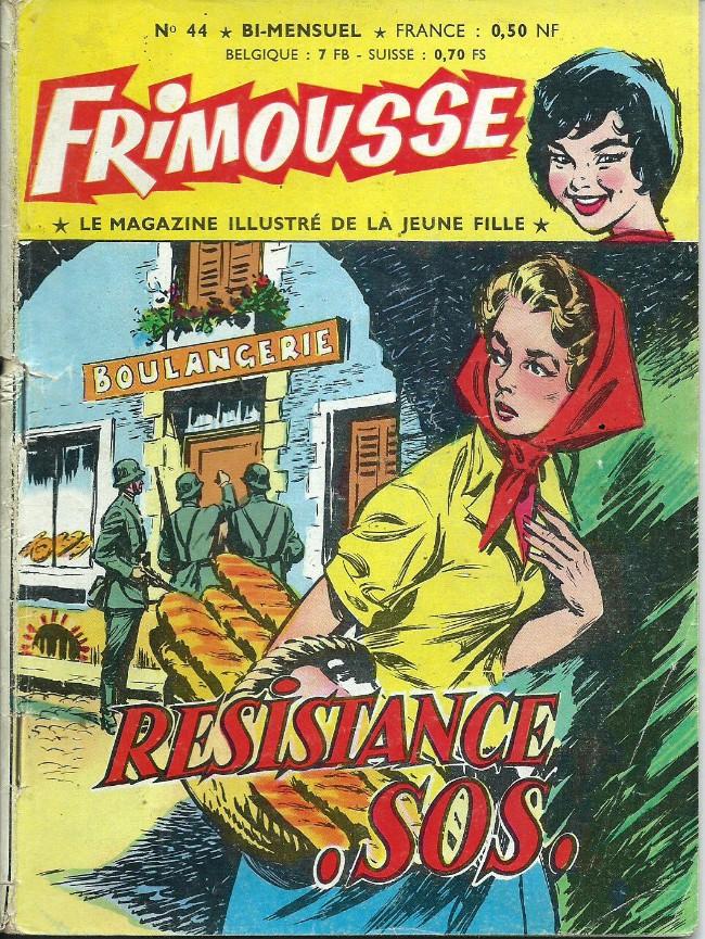 Couverture de Frimousse et Frimousse-Capucine -44- Résistance SOS