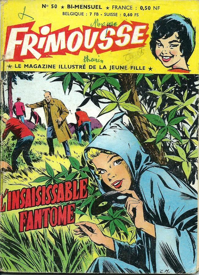 Couverture de Frimousse et Frimousse-Capucine -50- L'insaisissable fantôme