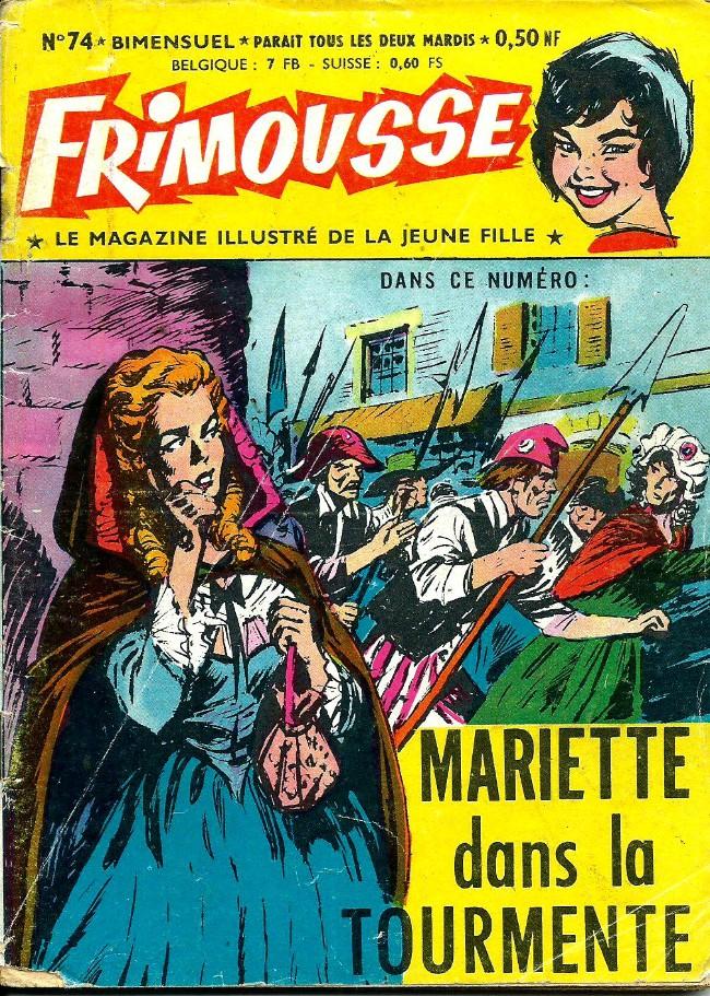 Couverture de Frimousse et Frimousse-Capucine -74- Mariette dans la tourmente