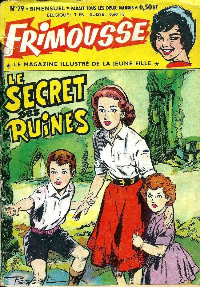 Couverture de Frimousse et Frimousse-Capucine -79- Le secret des ruines