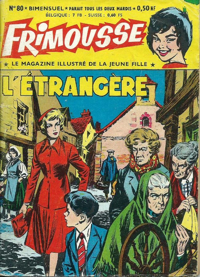 Couverture de Frimousse et Frimousse-Capucine -80- L'étrangère