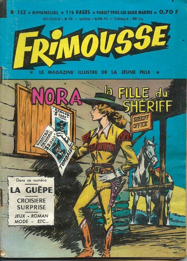 Couverture de Frimousse et Frimousse-Capucine -152- Nora la fille du shériff