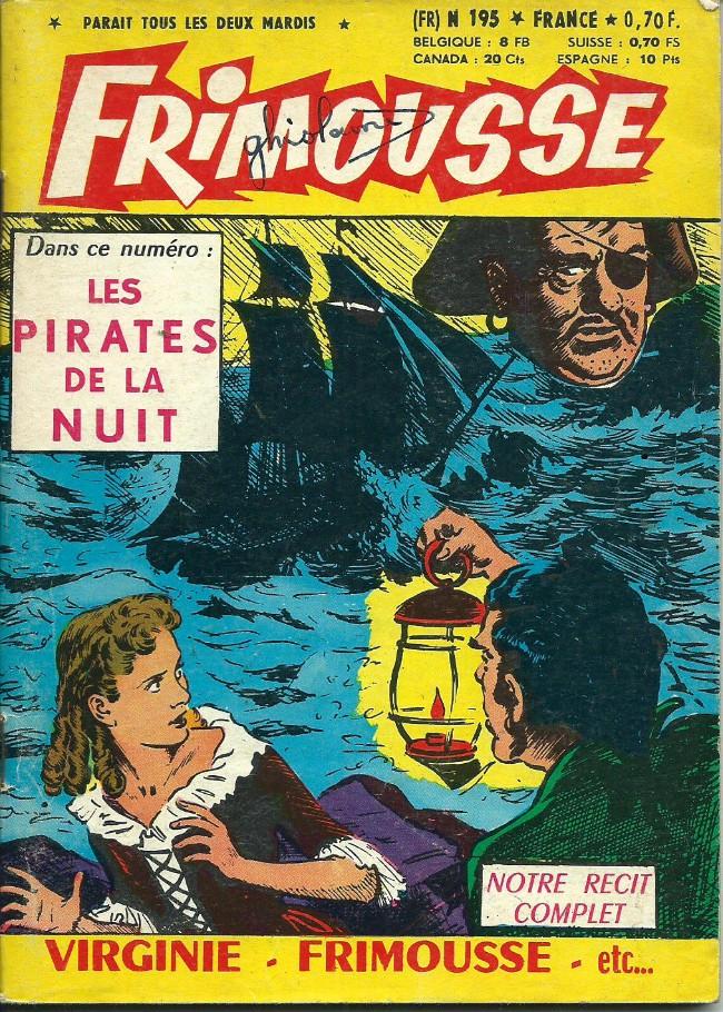 Couverture de Frimousse et Frimousse-Capucine -195- Les pirates de la nuit