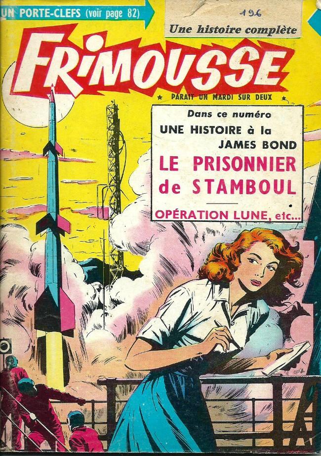 Couverture de Frimousse et Frimousse-Capucine -1961- Le prisonnier de Stanboul