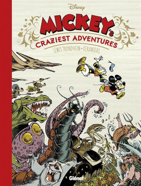 Couverture de Mickey (collection Disney / Glénat) - Mickey's Craziest Adventures