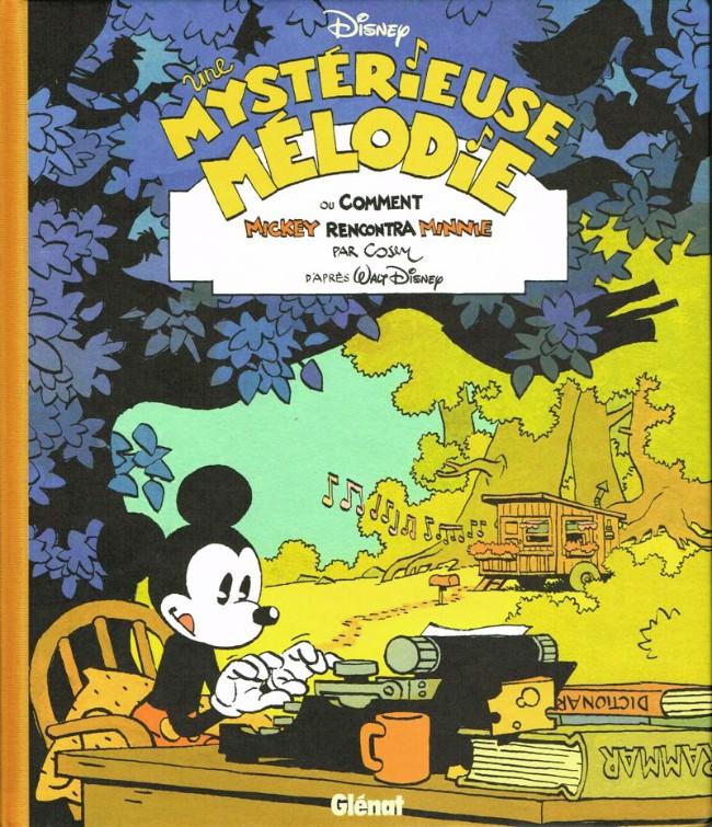 Couverture de Mickey (collection Disney / Glénat) -1- Une mystérieuse mélodie, ou comment Mickey rencontra Minnie