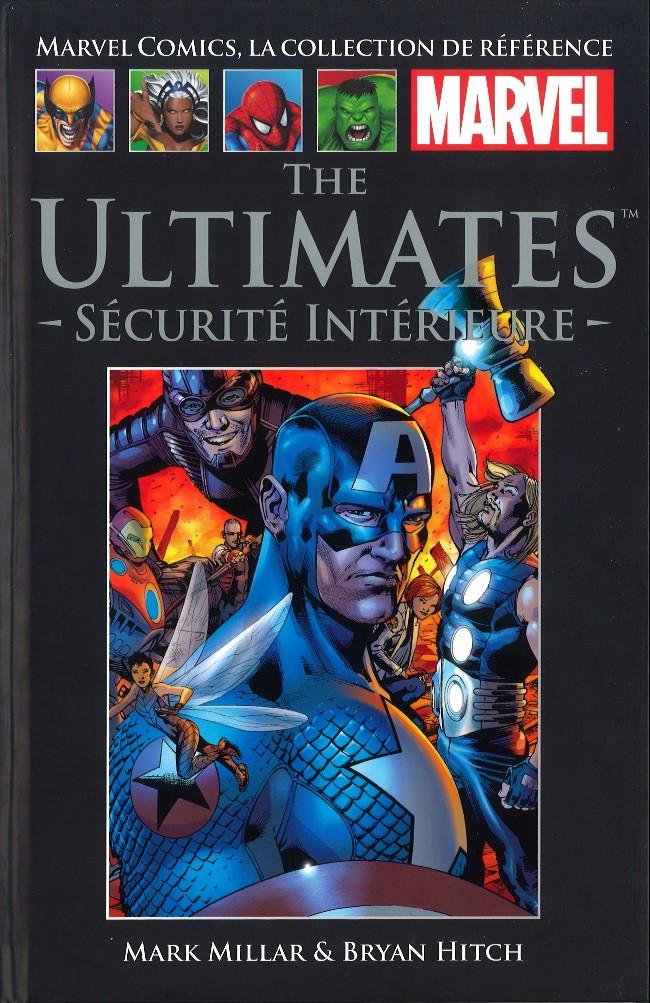 Couverture de Marvel Comics - La collection (Hachette) -5331- The Ultimates - Sécurité intérieure