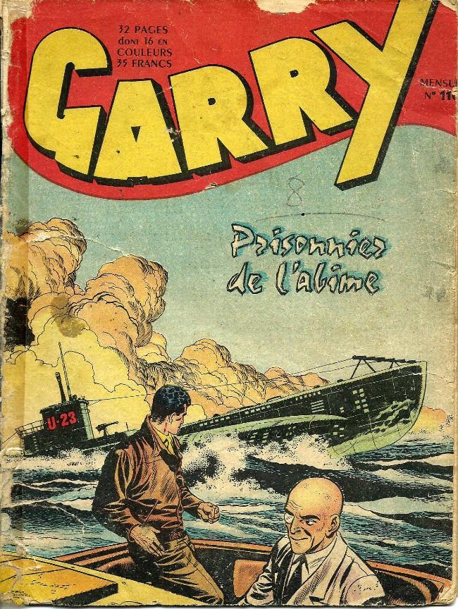 Couverture de Garry (sergent) (Imperia) (1re série grand format - 1 à 189) -110- Prisonnier de l'abime