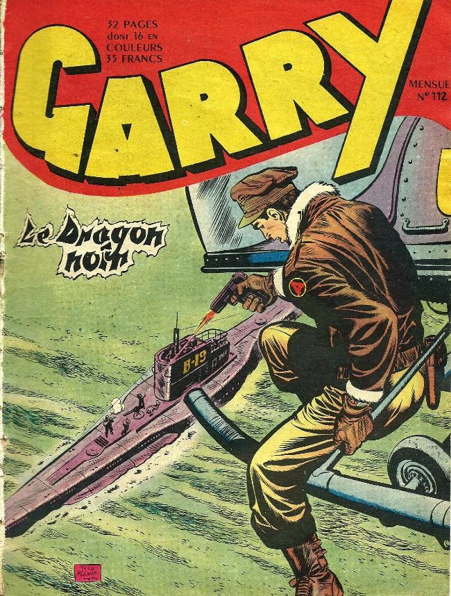 Couverture de Garry -112- Le dragon noir