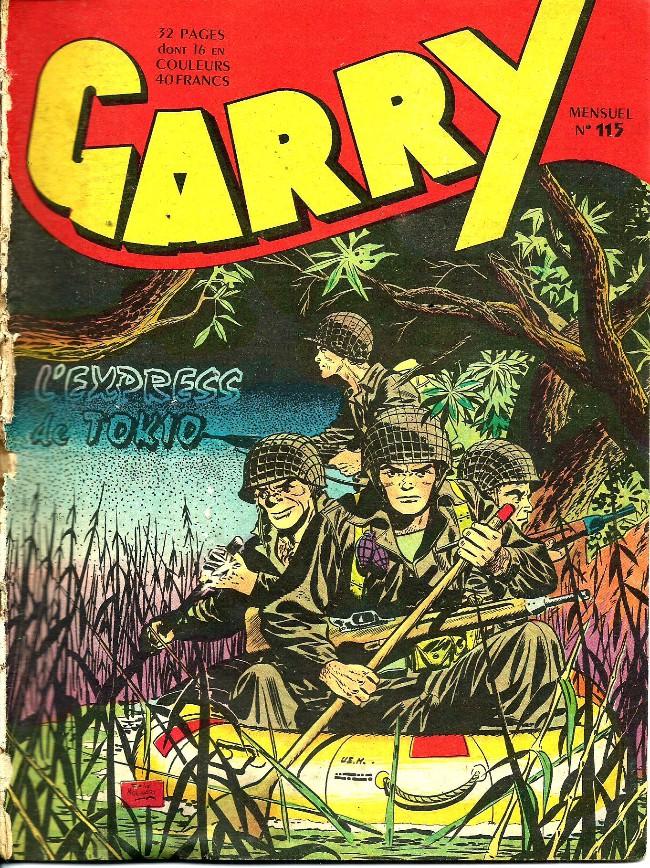 Couverture de Garry (sergent) (Imperia) (1re série grand format - 1 à 189) -115- L'express de Tokio