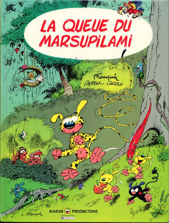 Couverture de Marsupilami -1- La queue du marsupilami