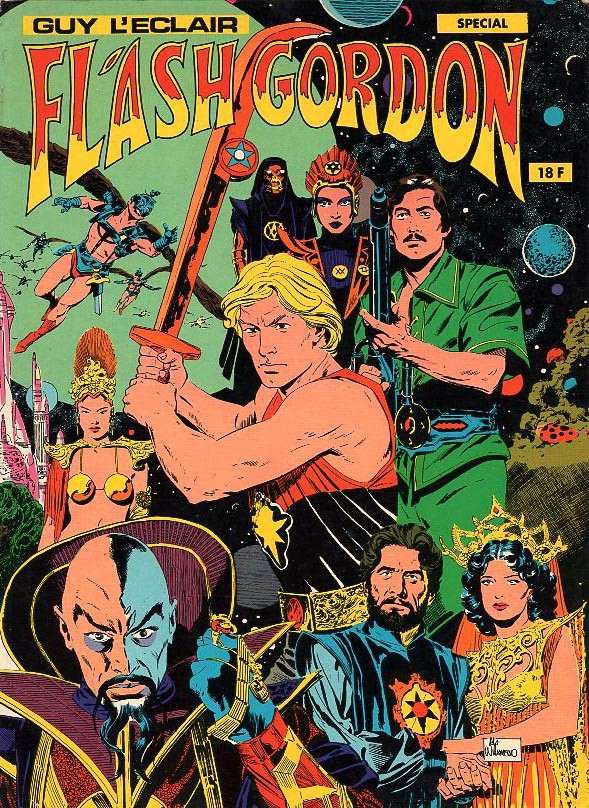 Couverture de Flash Gordon / Guy l'Éclair - Guy l'éclair - Flash Gordon Spécial