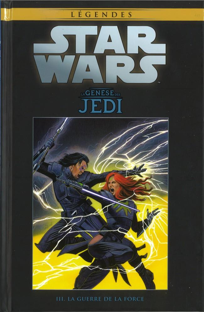 Couverture de Star Wars - Légendes - La Collection (Hachette) -93- La Genèse des Jedi - III. La guerre de la Force