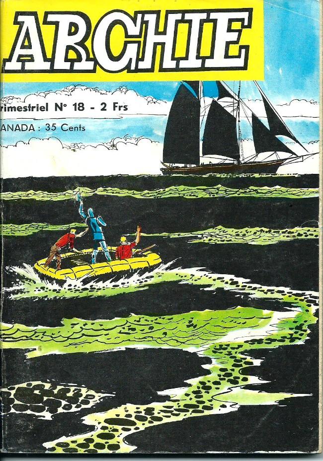 Couverture de Archie (Jeunesse et Vacances) -18- Le schooner fantôme