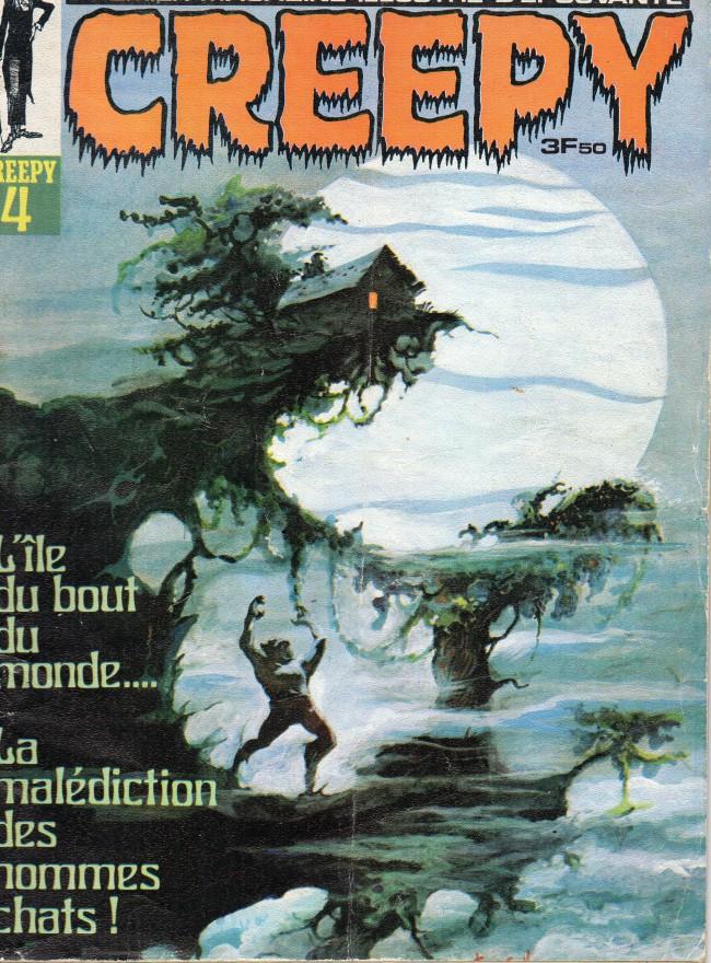 Couverture de Creepy (Publicness) -4- L'île du bout du monde.... - La malédiction des hommes chats !