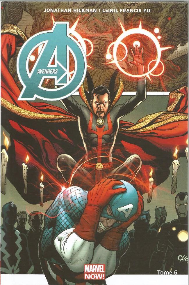 Couverture de Avengers (Marvel Now!) -6- Le Dernier Avenger