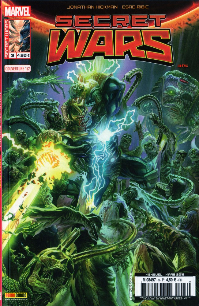Couverture de Secret Wars -31/2- Plus dure sera la chute