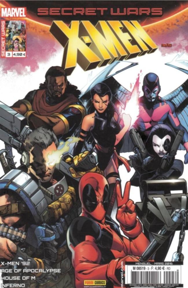 Couverture de Secret Wars : X-Men -3- Manipulations