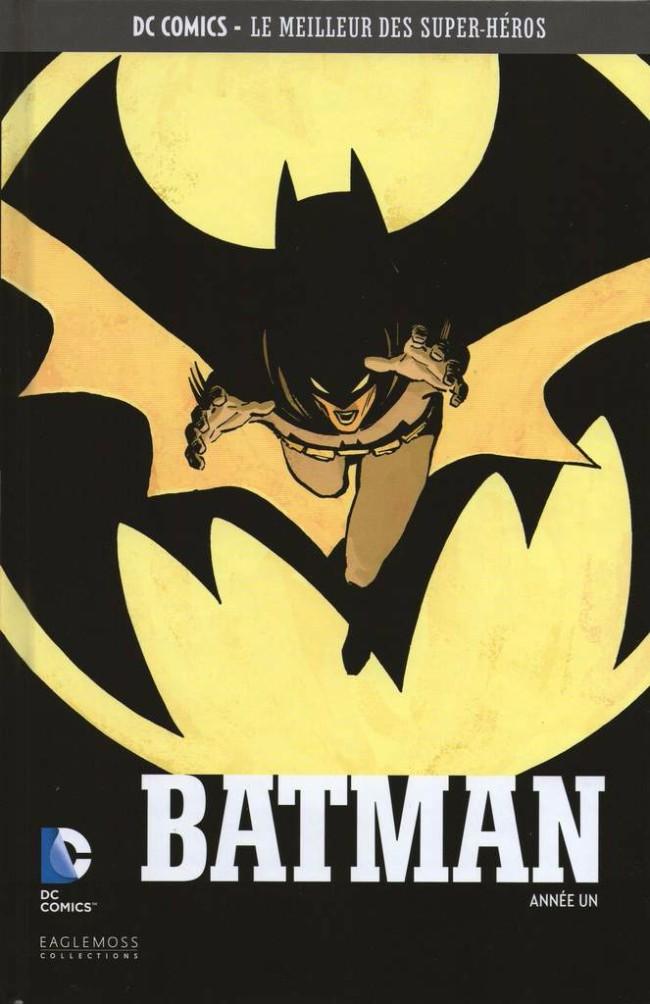 Couverture de DC Comics - Le Meilleur des Super-Héros -14- Batman - Année un